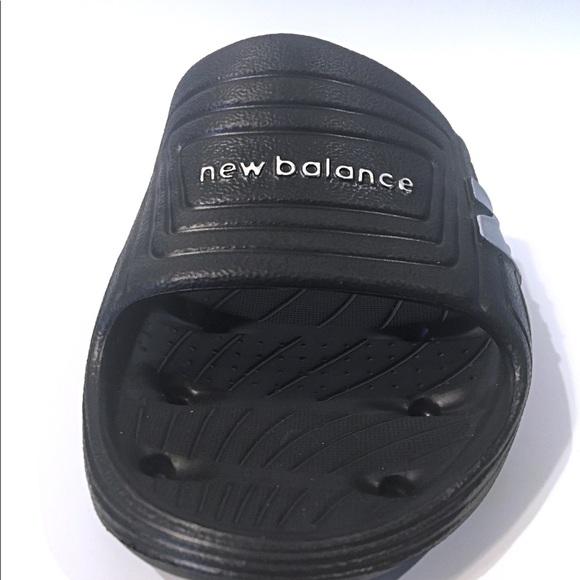 5a349f34a75a9 Men's New Balance Float Slides Sandals Black New. NWT. New Balance.  M_5b8150aa7ee9e253262f7c58. M_5b8150b05098a009c817d0bb.  M_5b8150b5800dee3c57b8ad17